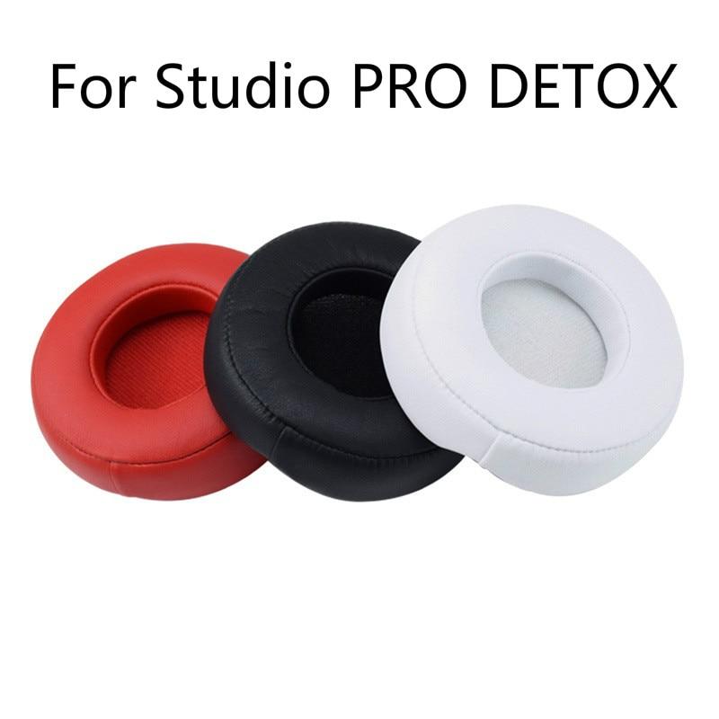 Macio de alta Qualidade Almofadas De Substituição para Batidas Estúdio Profissional PRO DETOX Fone De Ouvido Earmuffs Cobertura