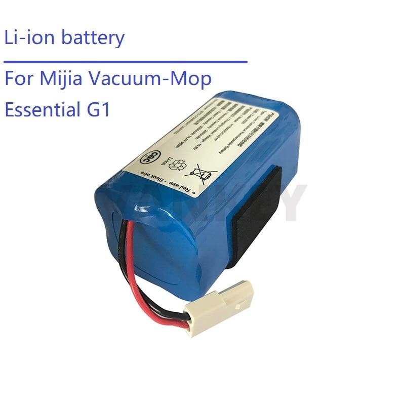 بطارية ليثيوم أيون قابلة للشحن MIJIA Mi روبوت مكنسة كهربائية أساسية G1 مكنسة كهربائية بطارية بسعة 2600mAh