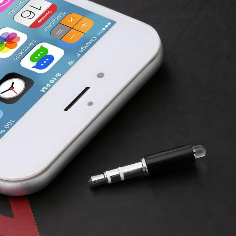 Mini infrarrojo IR Universal de 3,5mm, enchufe de Control remoto inteligente, transmisor inteligente de teléfono para IOS/ Android