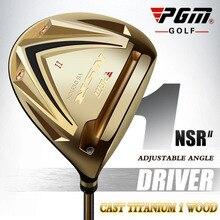 Pgm Titanium Golf Driver Head Clubs Fairway Wood 1/3/5 R Rechterhand Mannen Houten Gouden Tee ijzer-Hout Zwart Graphite Palos De Golf