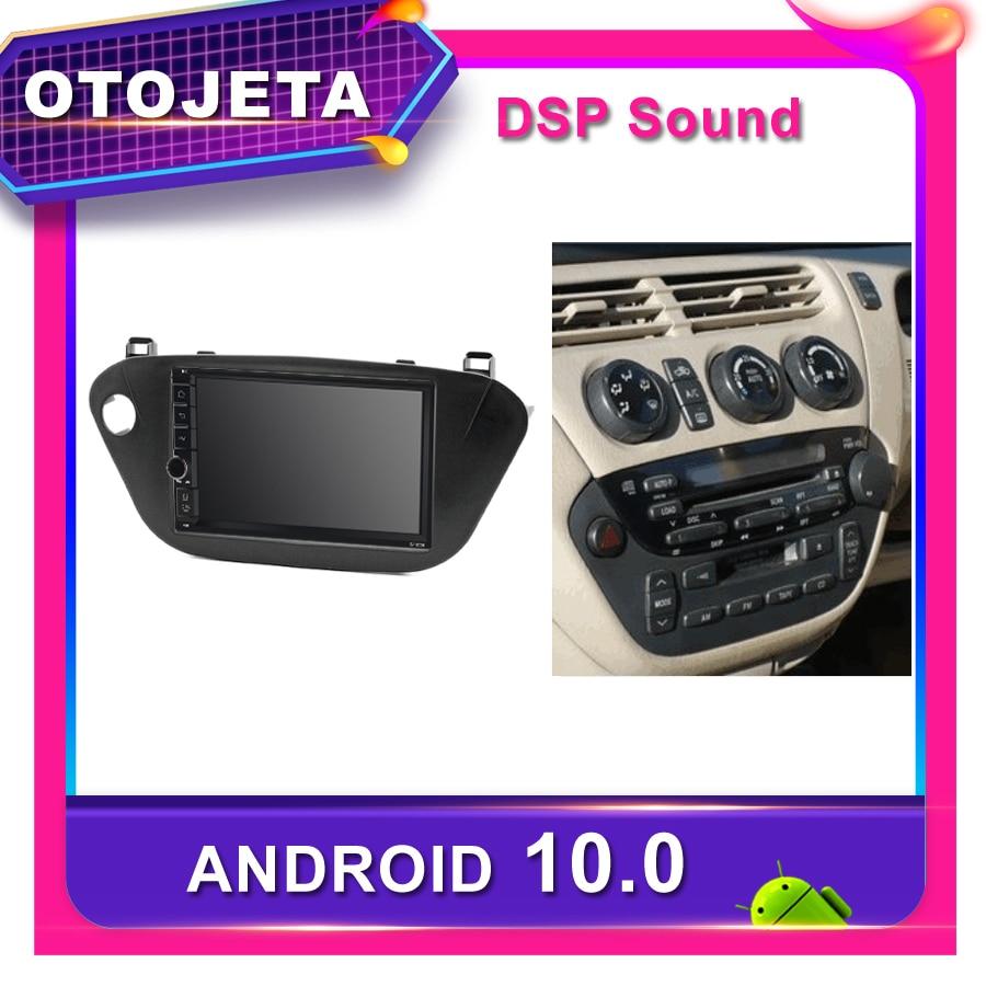 Marco android 10,0 reproductor de dvd radio de coche para Toyota Vista V50 2003 GPS de coche Navi bluetooth dsp estéreo DVR grabadora de cinta