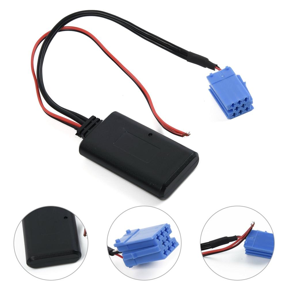 Adaptador Bluetooth para coche Aux música Módulo de cable para Alfa Romeo 147-156, 159