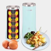 automatic egg roll maker diy electric egg sandwich cooker kitchen breakfast scrambled egg sausage boiler machine 220v 80w
