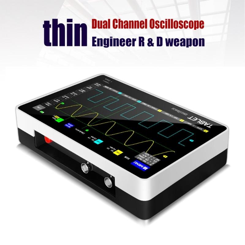 Новый FNIRSI 1013D сенсорный Экран мини планшет Многофункциональный двухканальный 100 м пропускная способность 1GS частота дискретизации планшетный компьютер Oscillosc