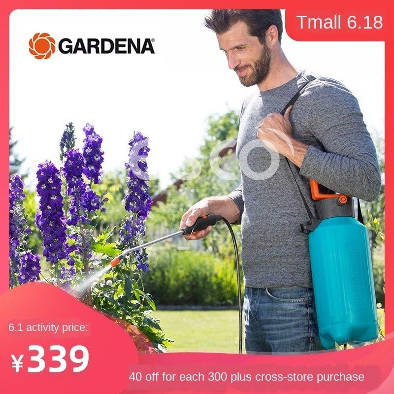 PULVERIZADOR GARDENA Jiading 5L de presión de aire para jardinería, riego, desinfección de agua, Lucha, medicina