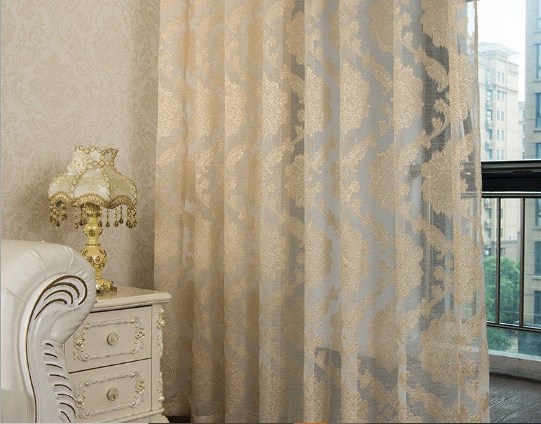 Window Yarn Living Room Bedroom European-style Tidis Curtain