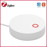Tuya     HUB passerelle intelligent Zigbee  alimente par USB  application Smart Life  telecommande  domotique  Support Alexa Google Home