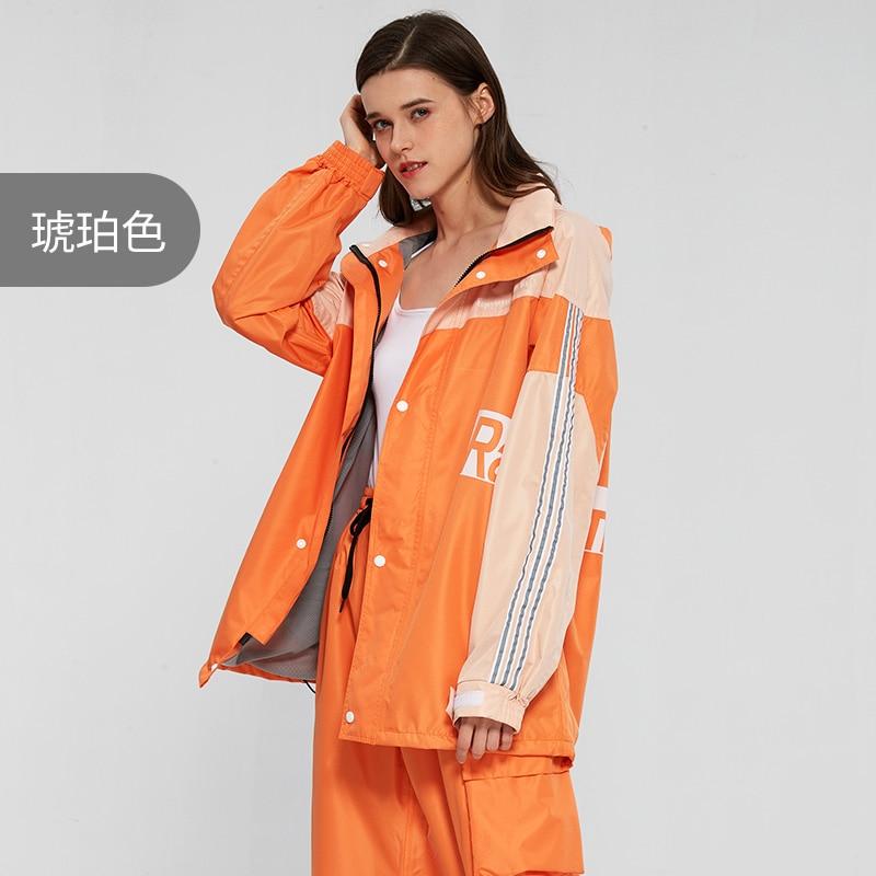 Fashion Raincoat Women Portable Rain Protection Coat Cover Pvc Fishing Rain Gear Fashion Chaquetas Para Mujer Household Eg50yy enlarge