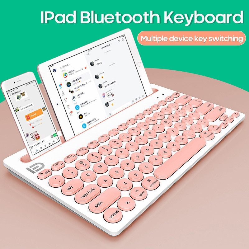 Mini Portable Bluetooth Wireless Keyboard Tablet Rechargeable Battery For Ipad Phone Android IOS Windows Macbook Tablet Keyboard