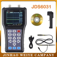 Jinhan JDS6031 multimètre oscilloscopeо stockage numérique осееееаа1ch 30Mhz 200MSa/S kit de bricolage osciloscopio daniu 5 langues