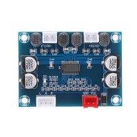 Mayitr 1pc DC 12-24V Module Audio 2 30W carte amplificateur de puissance numerique 2 canaux pour amplificateurs Home cinema