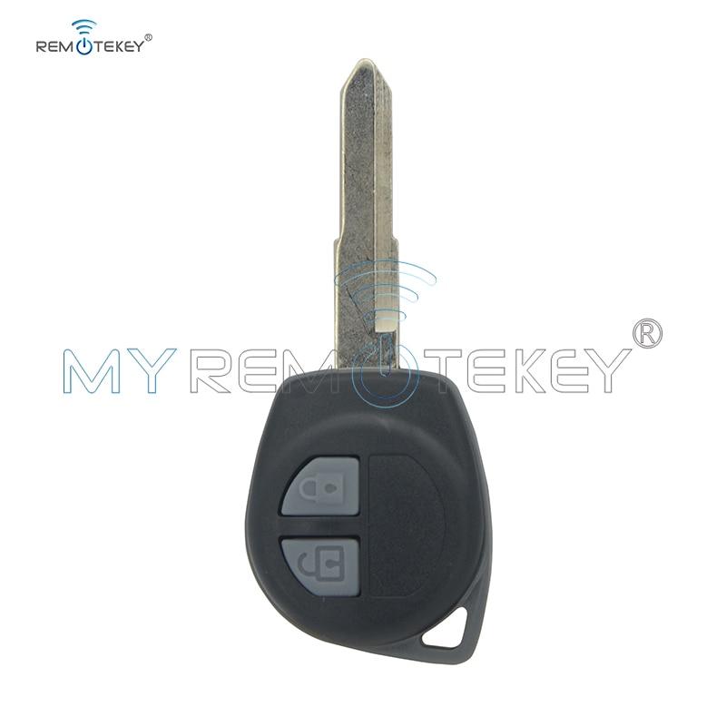 Control remoto llave de coche para Suzuki Swift Splash 2005, 2006, 2007, 2008, 2009, 2010, 433mhz 2 botón HU133 KBRTS004 ID46 chip remtekey