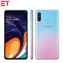 "Gloednieuwe Samsung Galaxy A60 Mobiele Telefoon 6.3 ""6G Ram 64 Gb/128 Gb Rom Snapdragon 675 octa Core 32.0MP + 8MP + 5MP Achteruitrijcamera Telefoon"