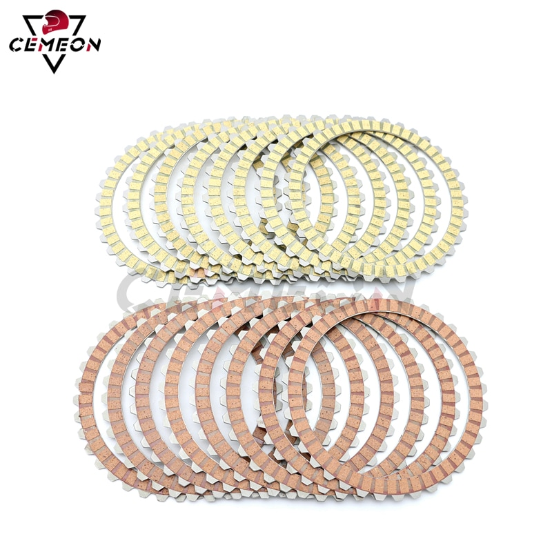 For Electra Glide Ultra Classic EFI FLHTCUI 1995  1996  1997 Motorcycle Clutch Friction Disc Clutch Plate Kit motor slinky glide clutch cable for hyosung atk united motors gv125 gv250 tcmt