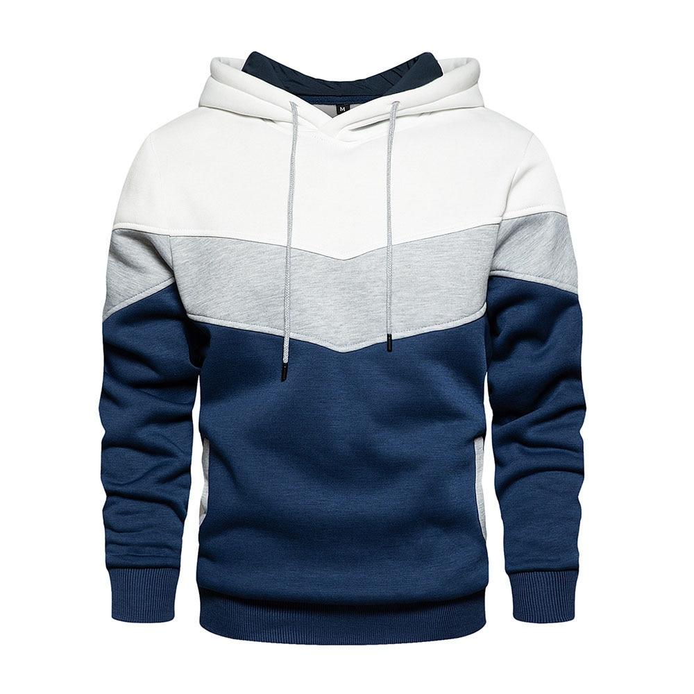 Мужская брендовая модная комбинированная толстовка с контрастным принтом и брюки, комплект спортивной одежды, повседневная мужская и женс...