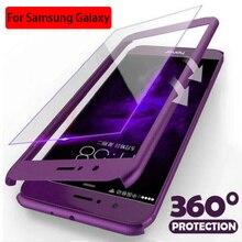 Luxury 360สำหรับ Samsung S20 S21 Plus Ultra S9 S8 S10 S7 S20FE Plus หมายเหตุ20 10 9 8 a71 A70 A50 A51A32 A52 A72 PC