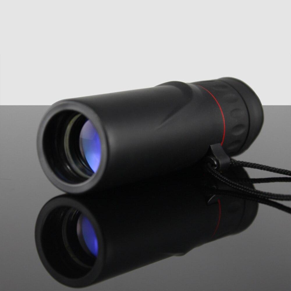 Binoculares de alta lista impermeable mini portátil de camping al aire libre bolsillo militar zoom 10X para viajes de caza