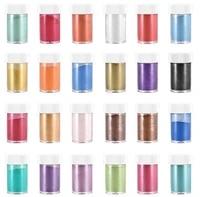 24 color 10g mica powder epoxy resin dye pearl pigment natural mica mineral powder diy epoxy mold jewelry making accessories