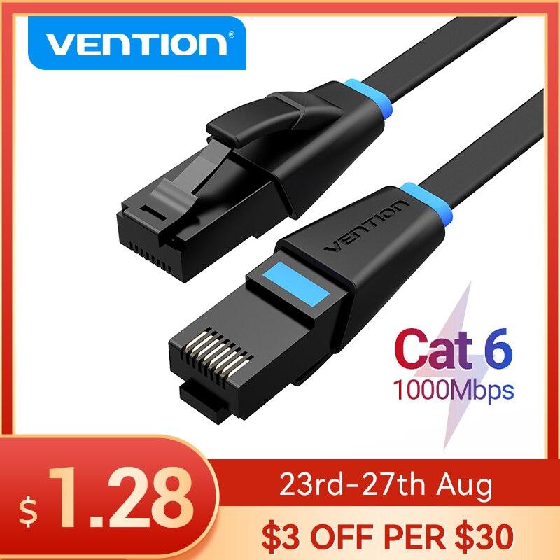 Vención de La Cat6 Cable Ethernet RJ45 Cat6 Lan UTP Cable de...