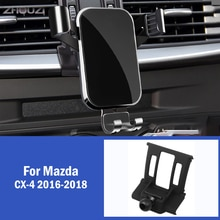 Car Mobile Phone Holder For Mazda CX-4 CX 4 CX4 2016-2018 Air Vent GPS Mounts Stand Gravity Navigation Bracket Car Accessories