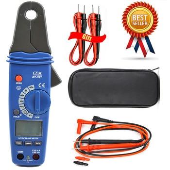 CEM DT-337 Digital Clamp Meter Small Jaw Ammeter High Precision AC / DC Clamp Meter Multimeter Leakage Current Meter Auto Repair