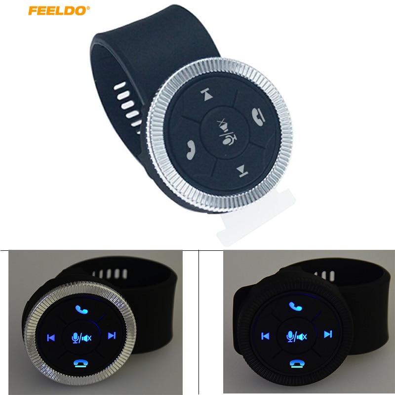 MOTOBOTS 1 комплект новая 7-клавишная Автомобильная Беспроводная кнопка управления рулевым колесом с резиновым ремешком для автомобиля Android DVD/GPS навигационный плеер