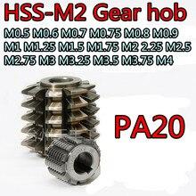 M0.5 M0.6 M0.7 M0.75 M0.8 M0.9 M1 M1.25 M1.5 M1.75 M2 2.25 M2.5 M2.75 M3 M3.25 M3.5 M3.75 M4 PA20 HSS-M2 기어 호브