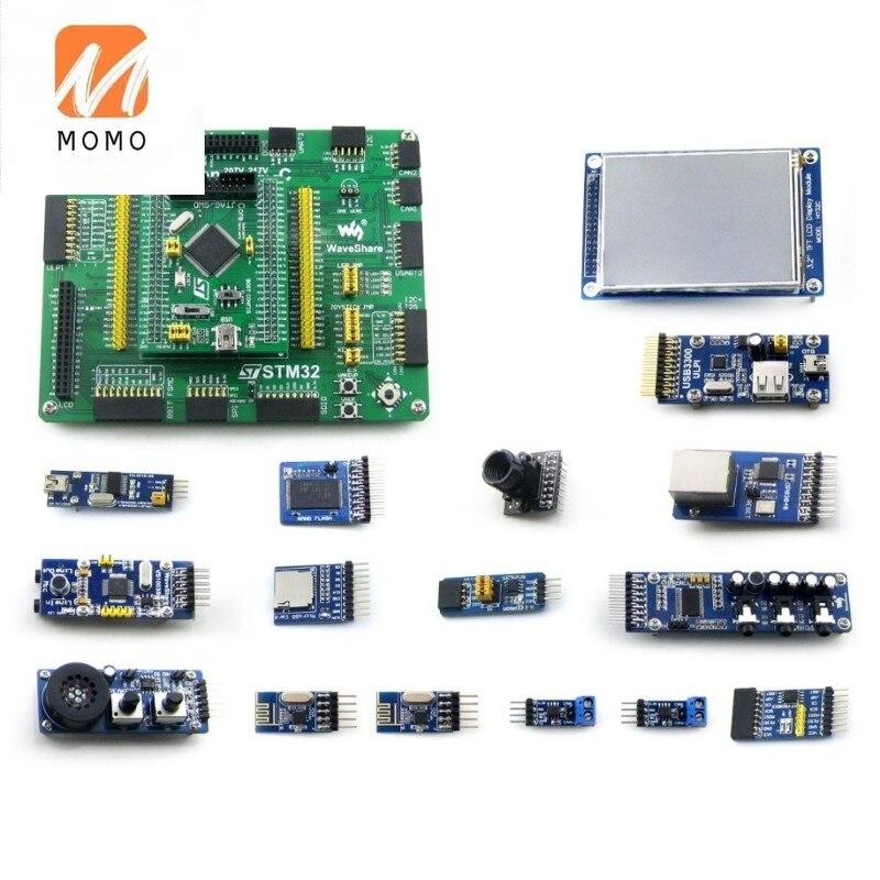 STM32 Development Board STM32F407VET6/STM32F407VGT6 MCU Open407V-C Evaluation Kit+PL2303 USB UART Boar+14 Accessory Modules Kits