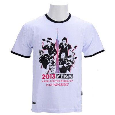 2020 nova original stiga memorial cultural camisa de tênis mesa camisa para homens e mulheres manga curta esportes t camisa