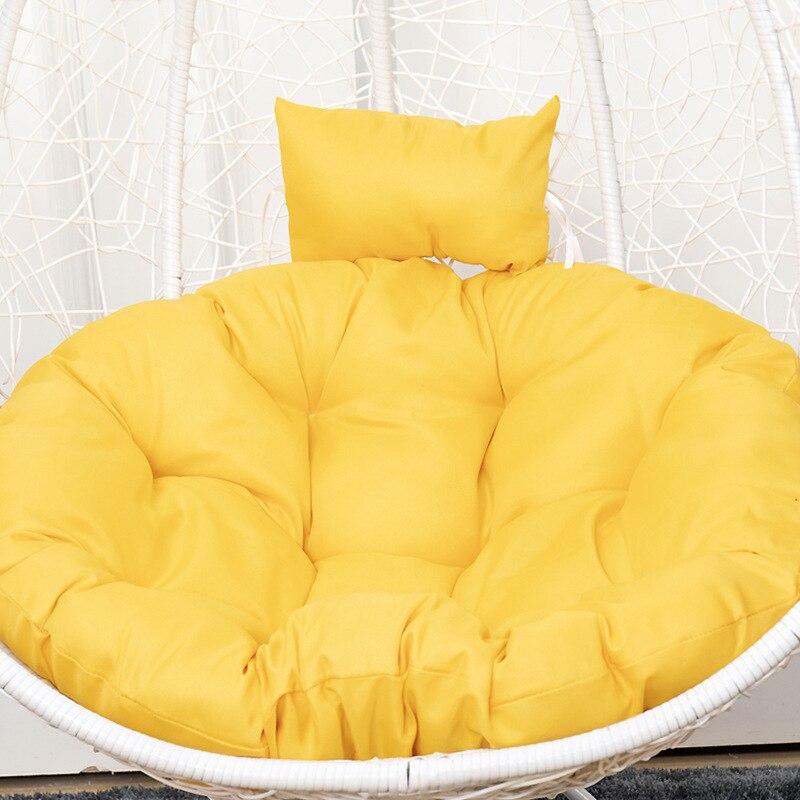 كرسي وسادة مقعد وسادة كرسي مستديرة داخلي وسادات مقعد خارجية وسادة مقعد ل أرجوحة معلقة سلة سوينغ كرسي cojines ديكورات