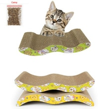 Grand chat animal de compagnie à gratter   44x22CM plaque de meulage + tampon en papier, cadre descalade, grattoir