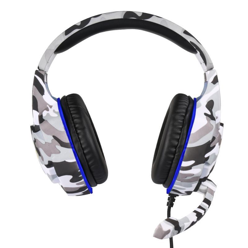 Fone de Ouvido para Computador Fones de Ouvido Microfone com Fio Fone de Ouvido Profissional Gamer Ps4 Ps5 Fifa 21 Gaming Baixo Estéreo pc Luz Led 3.5mm