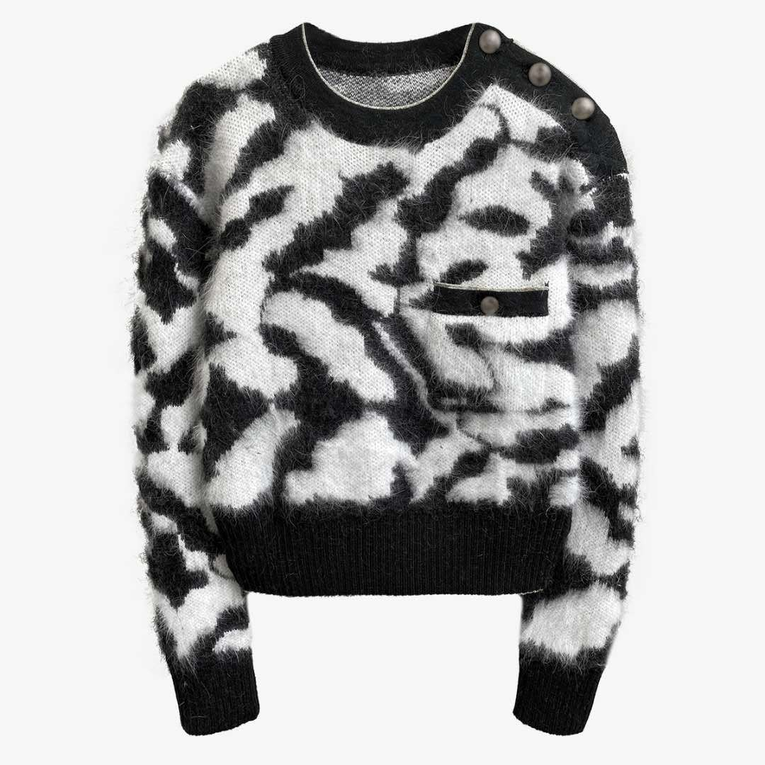 New style loose and lazy Plush sweater in autumn winter
