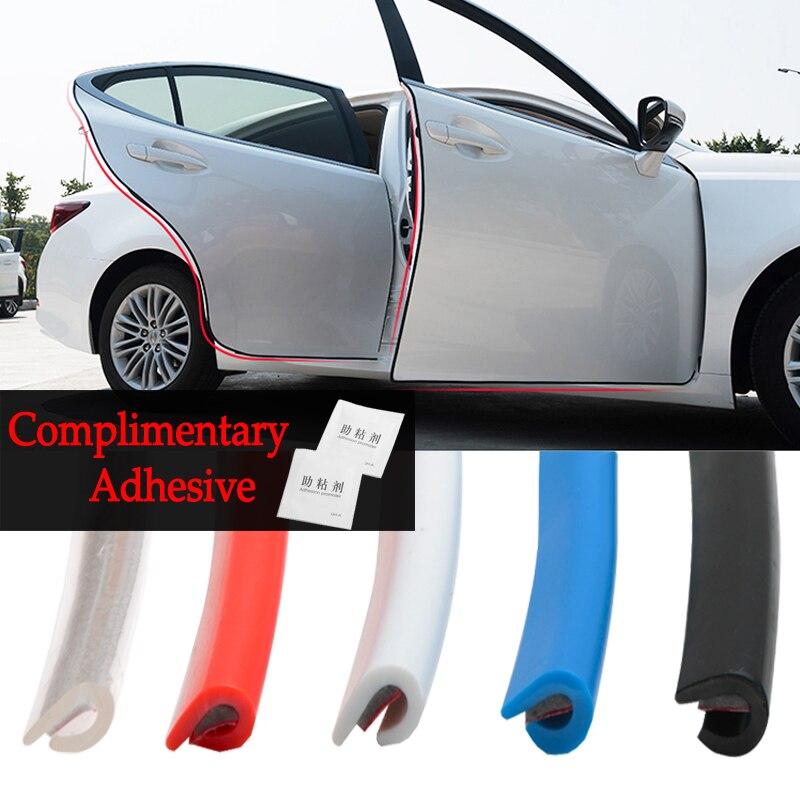 Protector de puerta de coche de 5M, cubierta de borde antirrayaduras anticolisión para Toyota corolla avensis yaris auris, accesorios de estilismo para coche