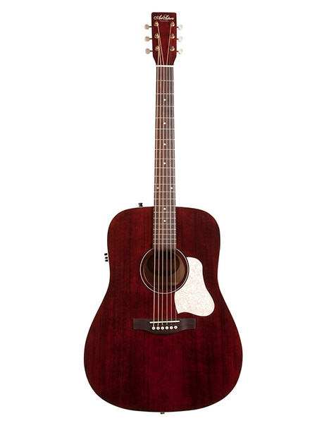 042456 Americana Tennessee rojo QIT electro guitarra acústica arte y Lutherie