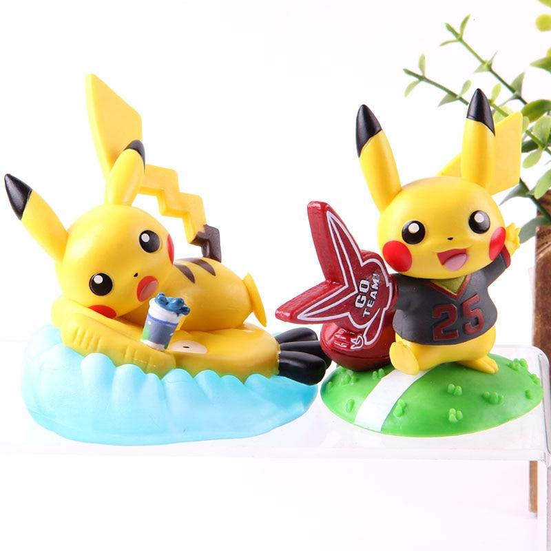 Anime Monster figura salpicando lejos de verano figura de acción Monster coleccionable modelo de juguete