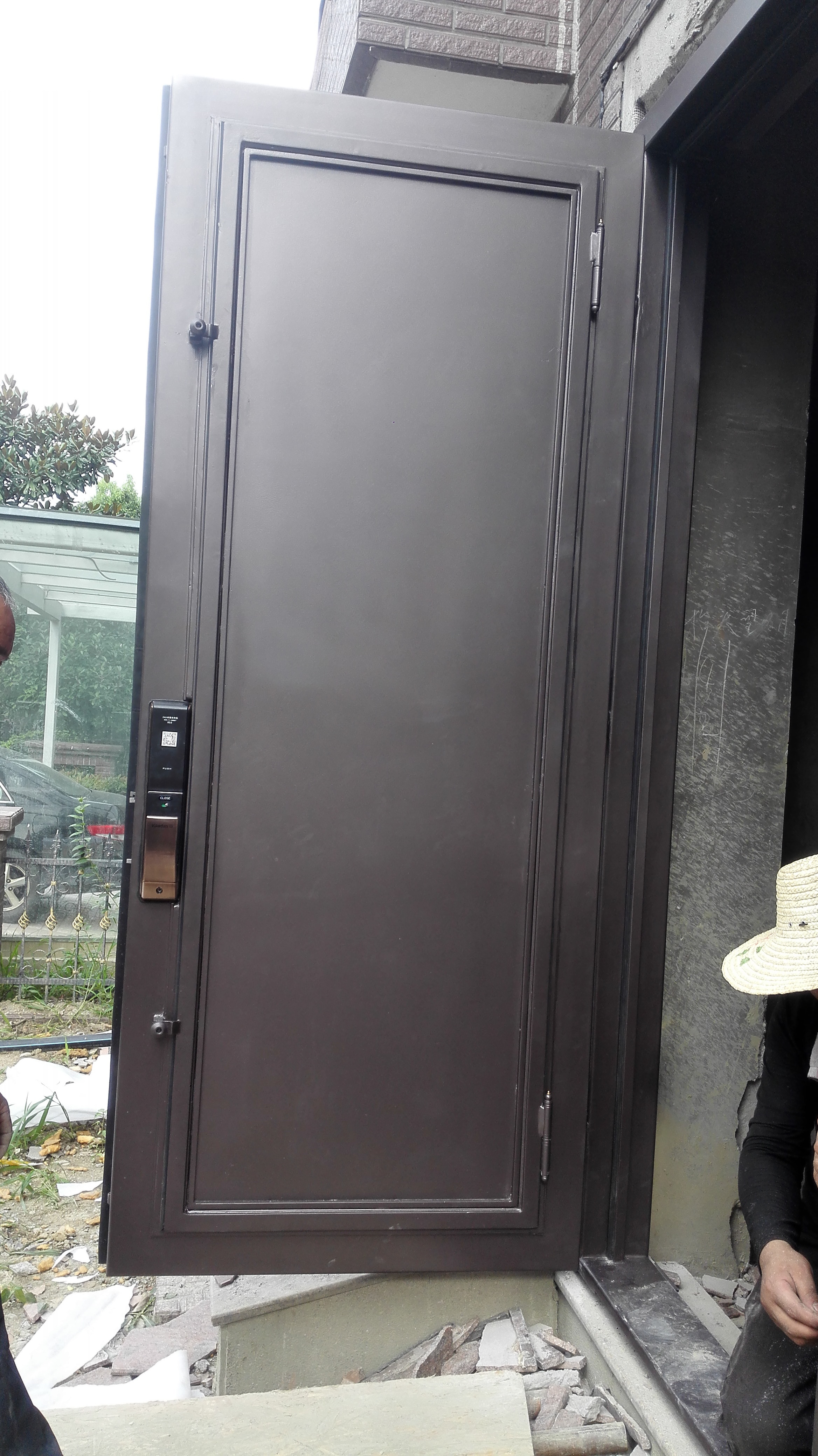 Shanghai hench marca china fábrica 100% personalizado feito venda austrália ferro forjado porta deslizante trilha