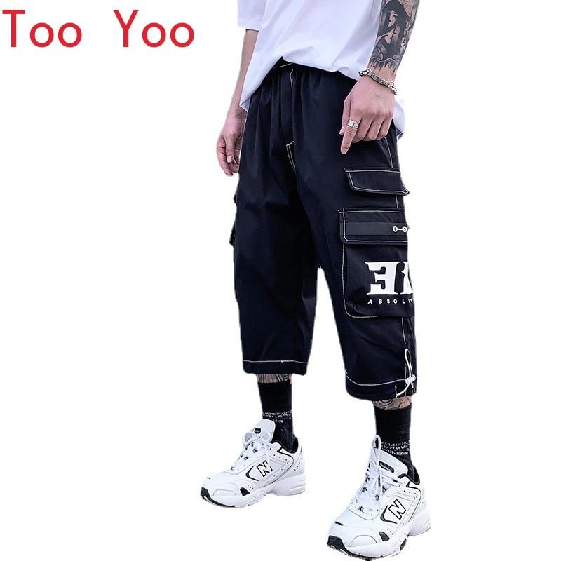 Cent Shorts for Men Summer 2021 New Pants for Men Junior Cargo Shorts for Men streetwear men  harajuku fashion