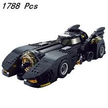 IN STOCK 7144 1778pcs Movie Series Batmobile Dc Building Blocks Bricks Kids Toys Christmas gift