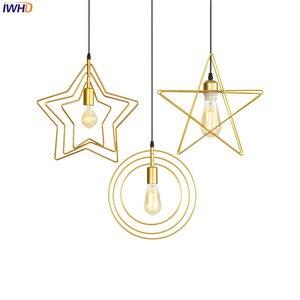 Скандинавские подвесные светильники, светодиодный алюминиевый потолочный светильник в стиле лофт, винтажные осветительные приборы для сп...