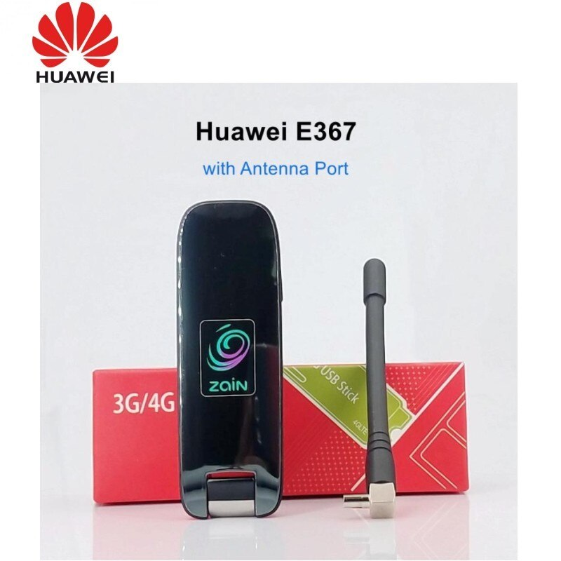 Envío gratuito, Dongle Huawei E367 con antena, banda ancha móvil, HSPA + 4G, módem USB de 28,8 Mbps para sistema operativo Windows7