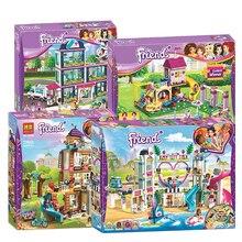 622 pièces véritables bonnes amies filles série 01014 la maison de stéphanie ensemble blocs de construction briques avec des amis lepining 41314