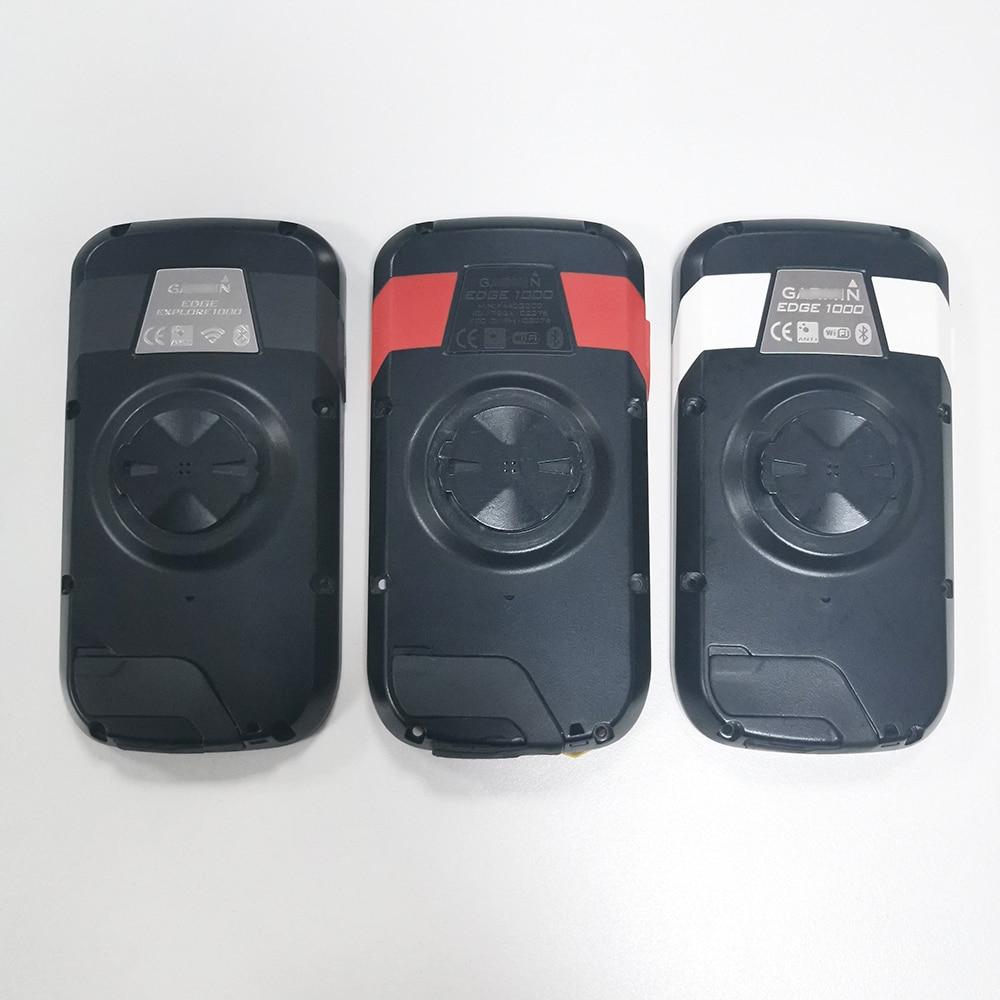 الغطاء الخلفي الأصلي ل GARMIN Edge 1000 استكشاف 1000 أحمر أسود أبيض الغطاء الخلفي بدون/مع بطارية ليثيوم أيون 361-00035-06 إصلاح