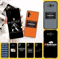 cutewanan japan trend head porter phone case cover for samsung galaxy j7 j8 j6 plus 2018 prime note 7 8 9 10 pro