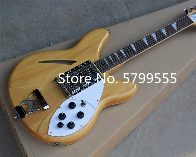 Factory direct 325 electric guitar wood color 12 strings can be customized and changed according to the requirements
