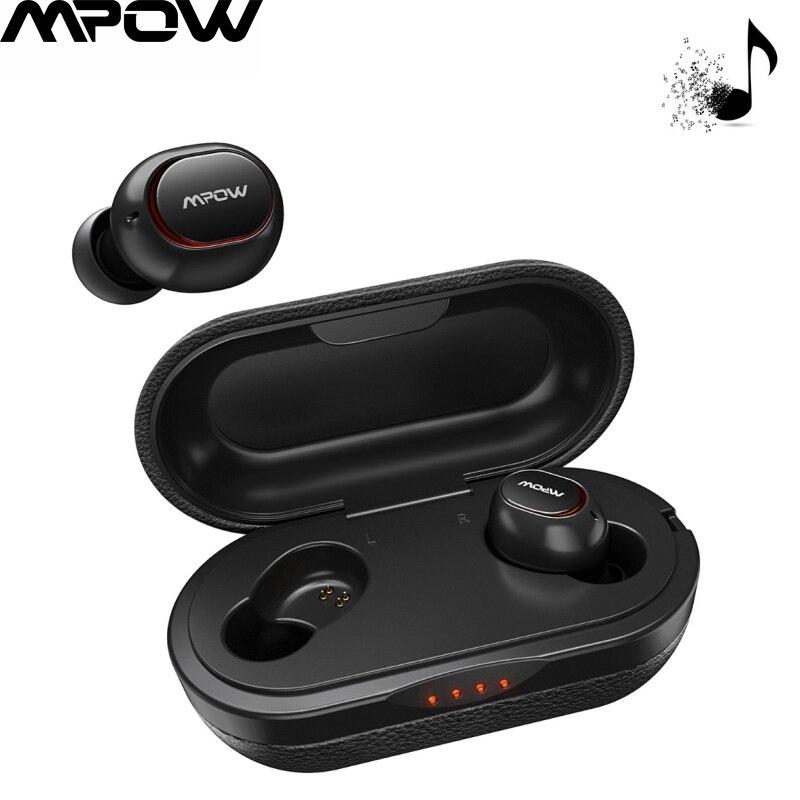 Mpow беспроводные TWS наушники APTX Bluetooth 5,0 наушники 36H воспроизведение 3D стерео CVC8.0 шумоподавление Музыкальная гарнитура с микрофоном
