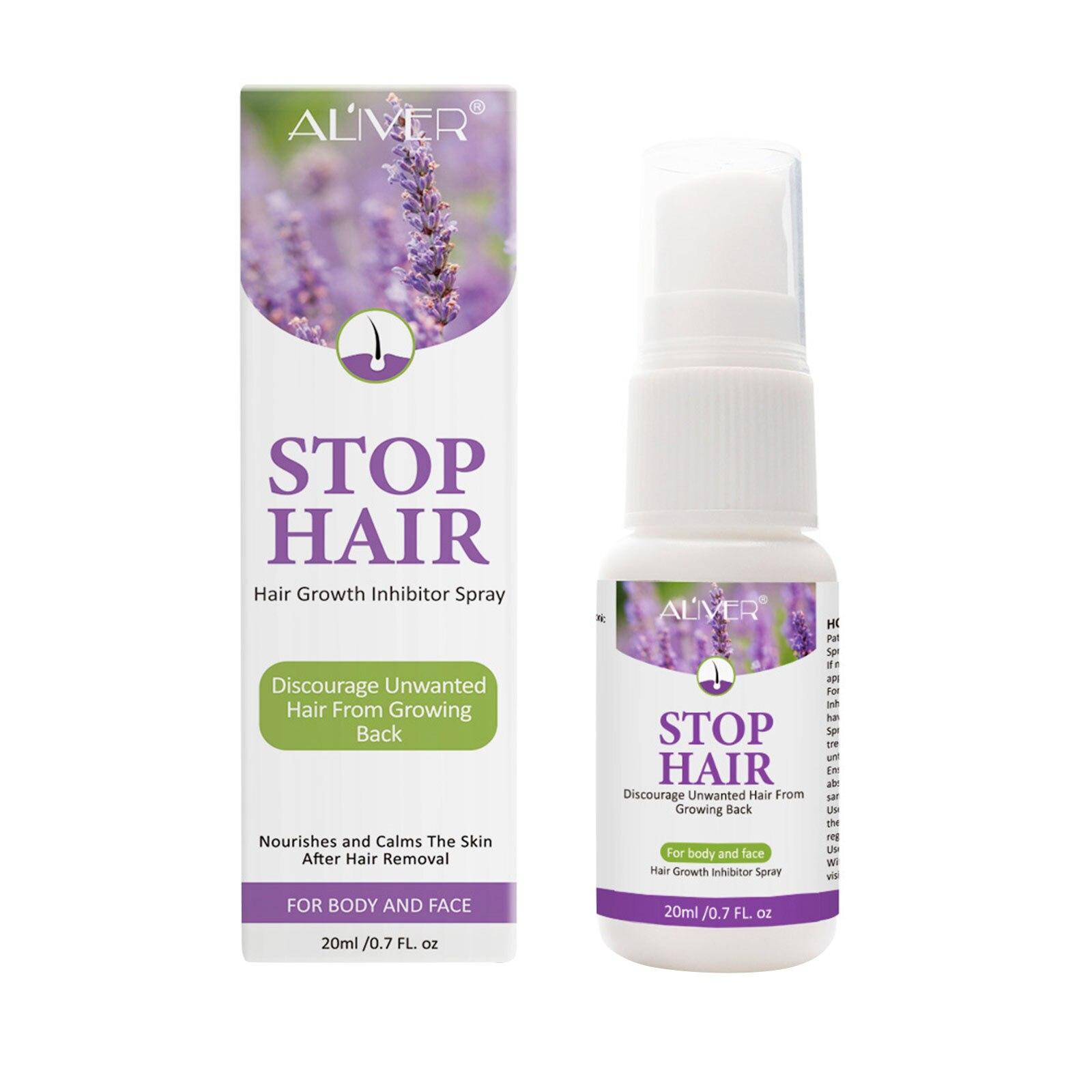 ALIVER-indoloro para el crecimiento del cabello, dispositivo para frenar el crecimiento del...