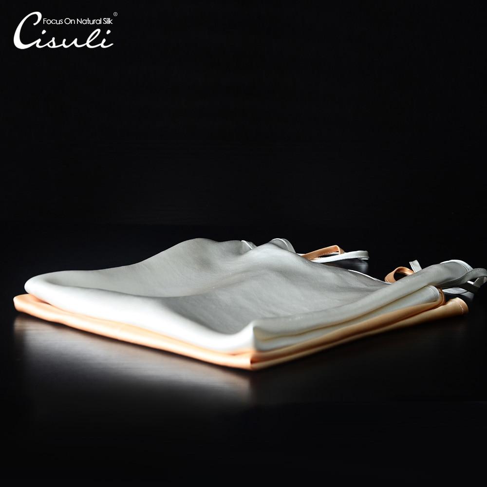 Camisola de satén de seda 100%, Charmuse SEDA Natural, tela de satén brillante, tela de seda de colores, ropa interior de mujer, Tops de verano de tamaño libre
