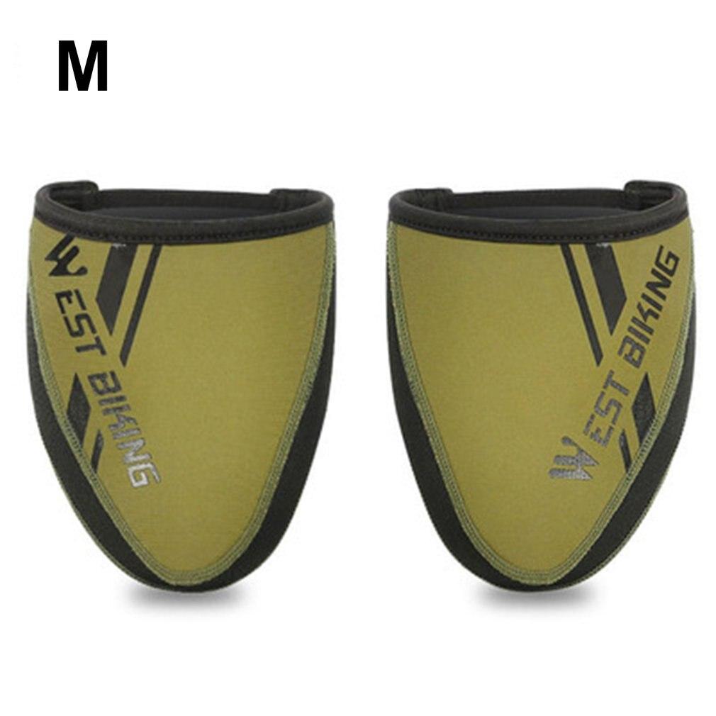 Чехол для велосипедной обуви, ветрозащитный и теплый чехол для обуви, чехол для обуви с полуладонями, чехол для велосипедной обуви с замком