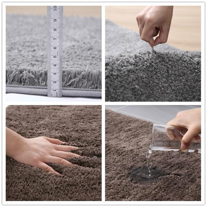 New North American style bathroom absorbent floor mat carpet bathroom door non-slip floor mat door bedroom household floor towel enlarge